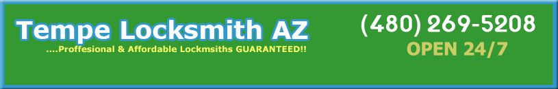 Tempe Arizona Locksmith House Keys